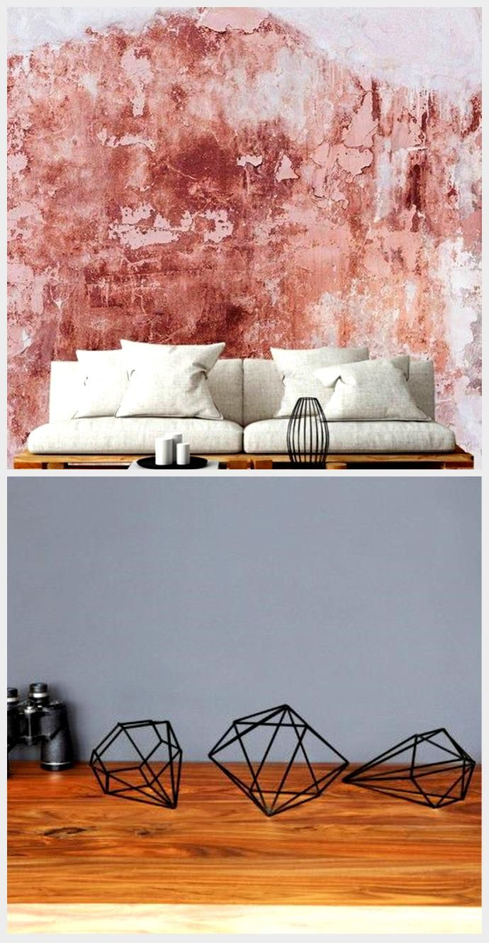 Peel and stick distressed texture wallpaper, 2020
