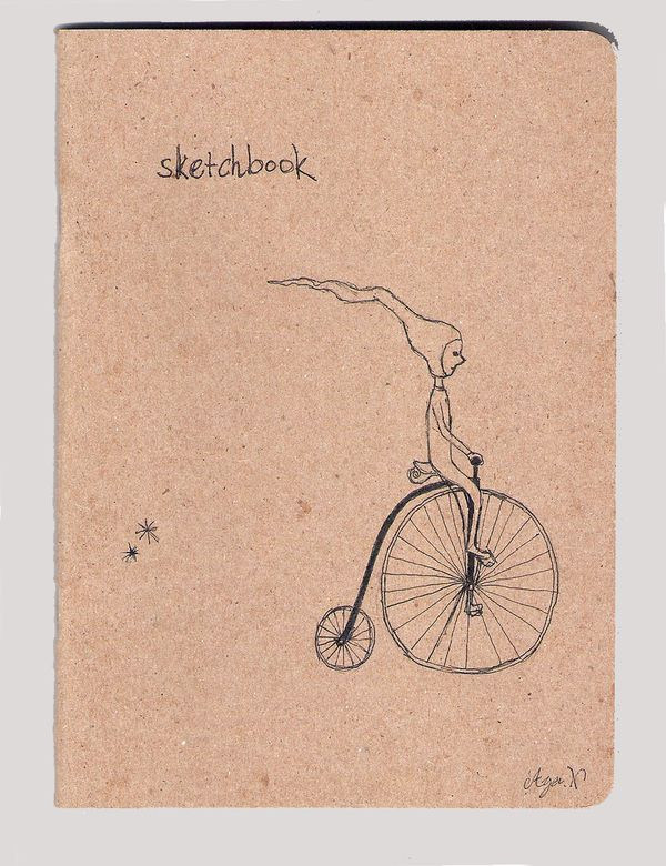 cover (The Sketchbook Project 2013) by Aya Nakaishi