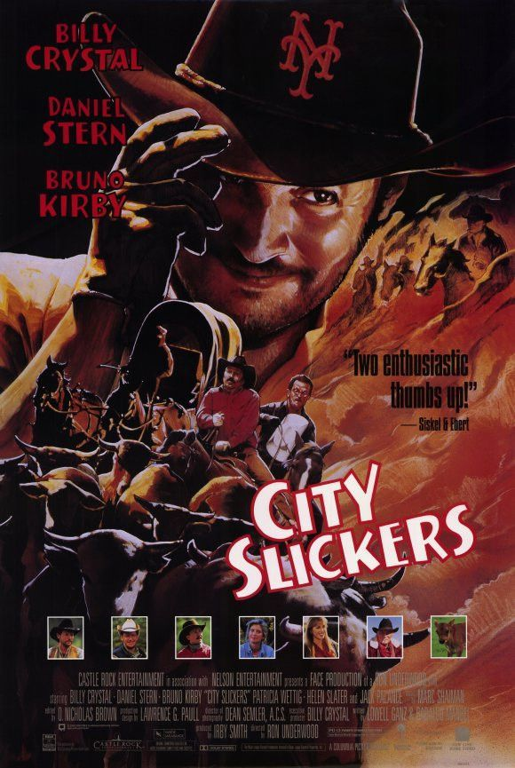 City Slickers 11x17 Movie Poster 1991 Movie Facts Billy Crystal City Slickers