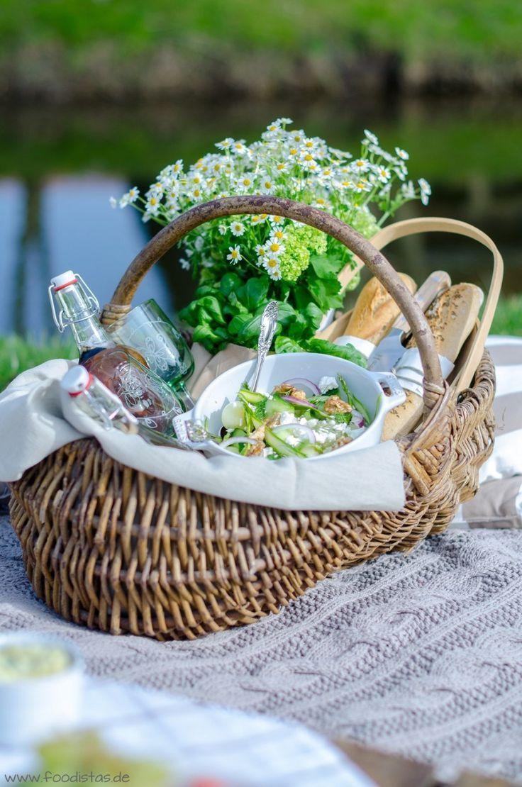 melonen gurken salat mit einem ciderdressing food picknick picnic dinner picnic und. Black Bedroom Furniture Sets. Home Design Ideas