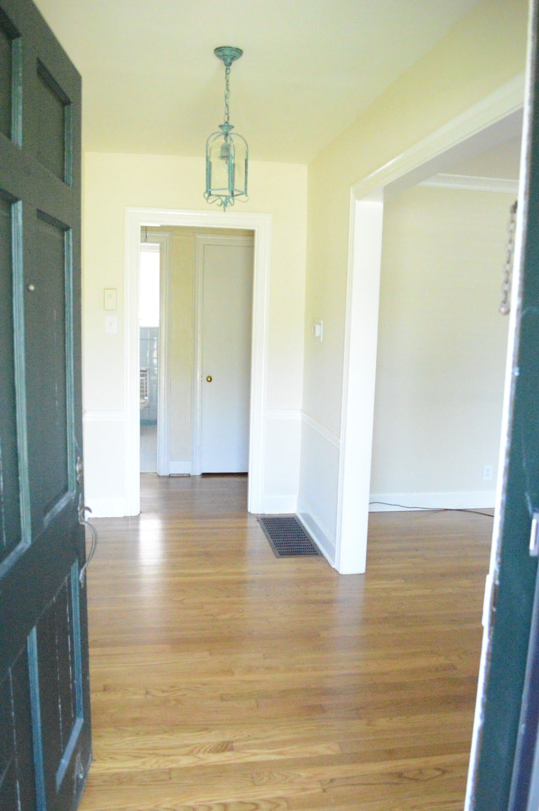Entryway: Before 50s Ranch Home Remodel & Renovation