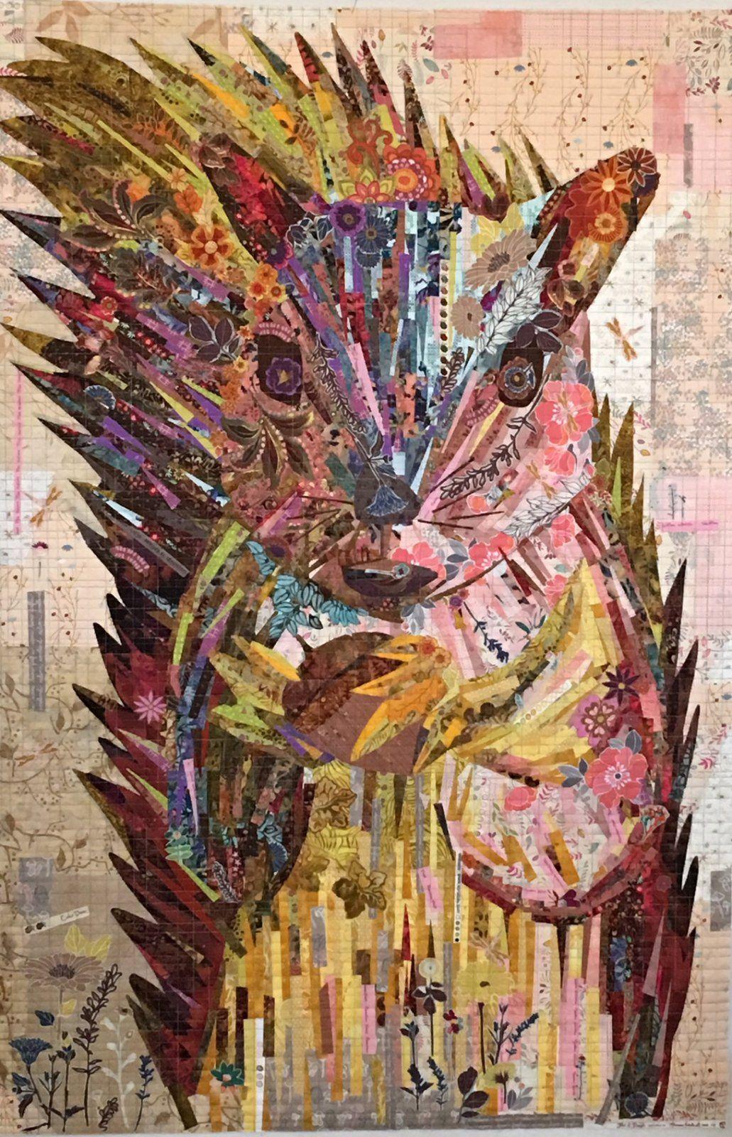 Hazel Nutt Painterly Collage Kit By Laura Heine Laura