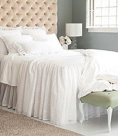 Pine Cone Hill Cecily Lace Bedspread
