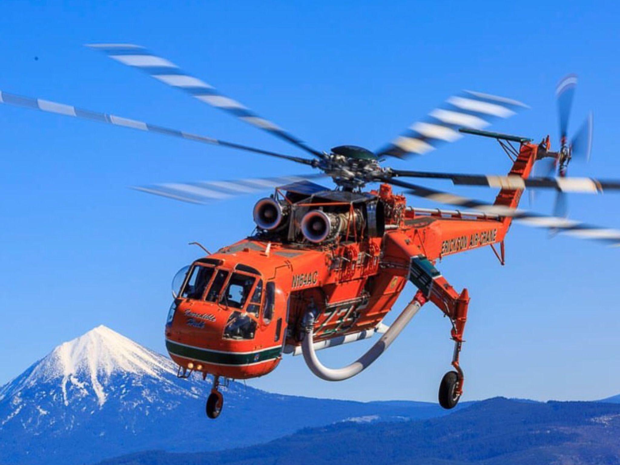 Erickson Air Crane Erickson air crane, Helicopter, Aviation
