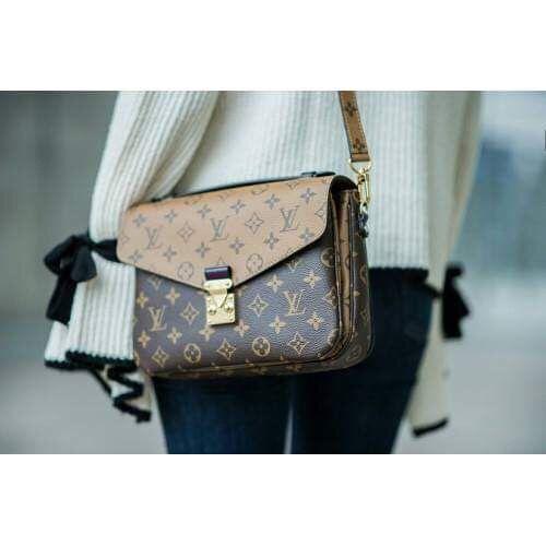 LV Reverse Monogram Pochette  #louisvuittonhandbags