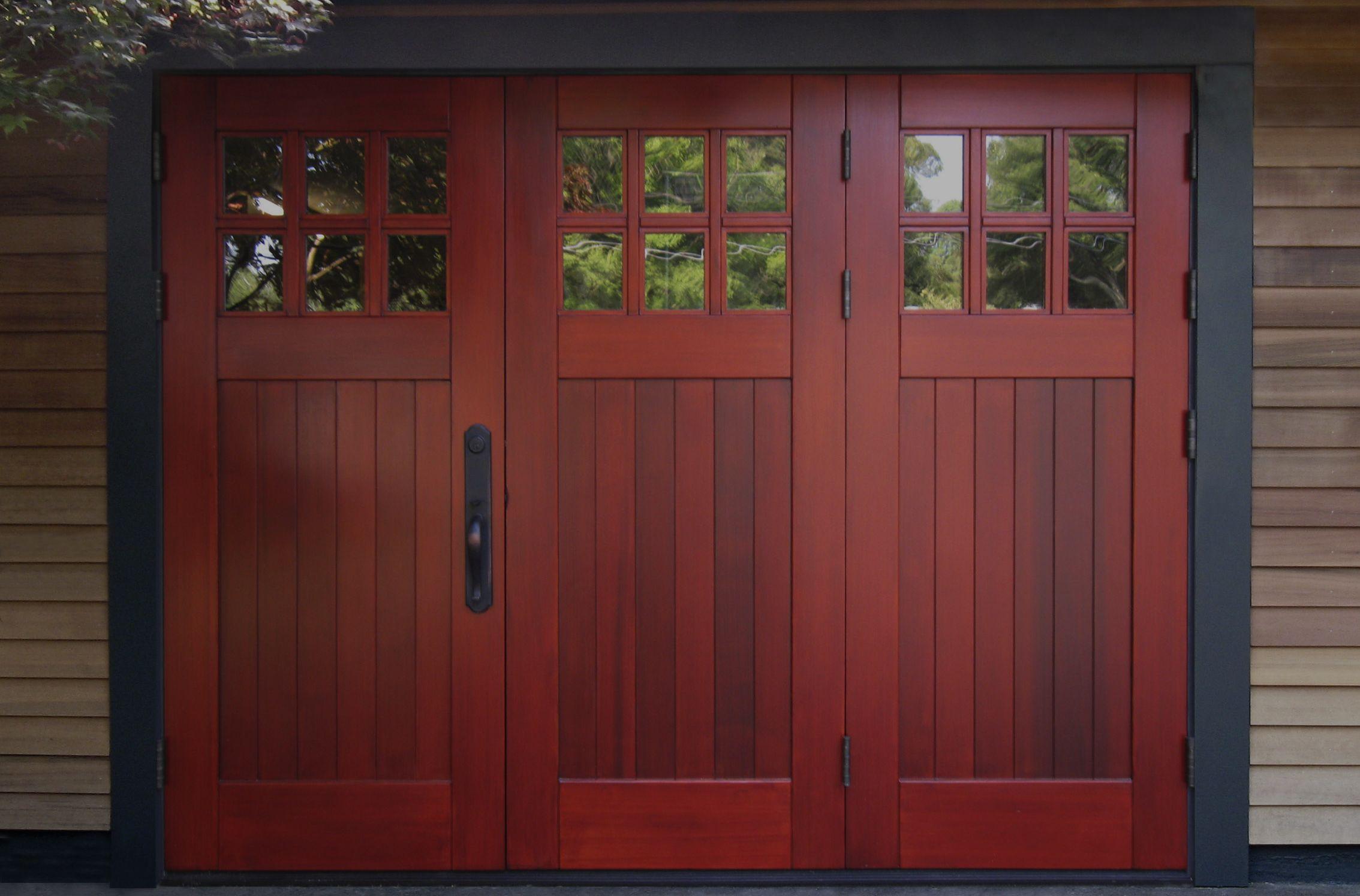 Folding Doors From Real Carriage Door Sliding Hardware Garage Doors Red Garage Door Carriage Doors