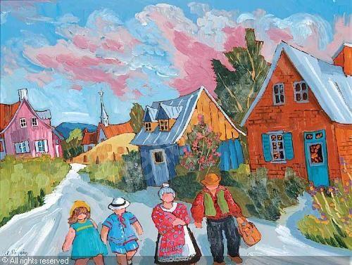 Canada ~ Pauline Paquin (Quebec artist)