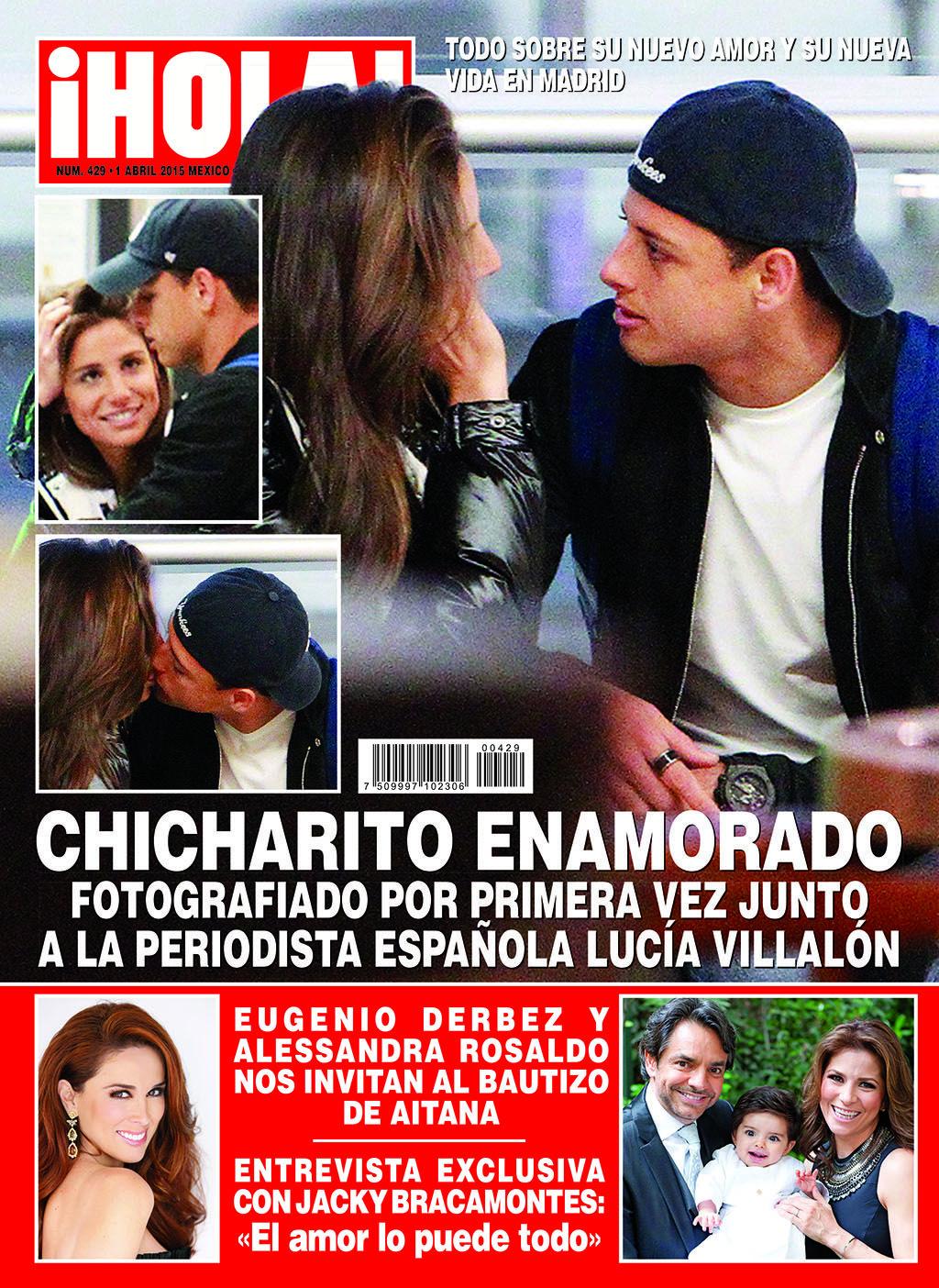 Esta semana en ¡HOLA! Las primeras fotos del Chicharito con su nuevo amor, la periodista española Lucía Villalón. No te la pierdas.