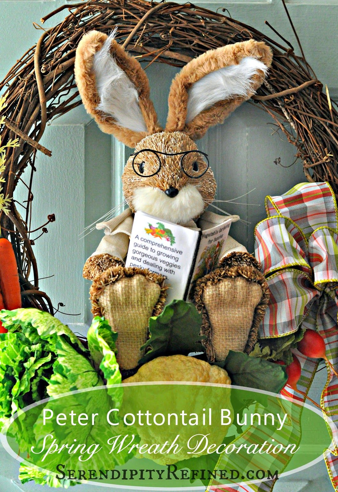 Serendipity Refined Blog Spring Easter Peter Rabbit Front Door ...