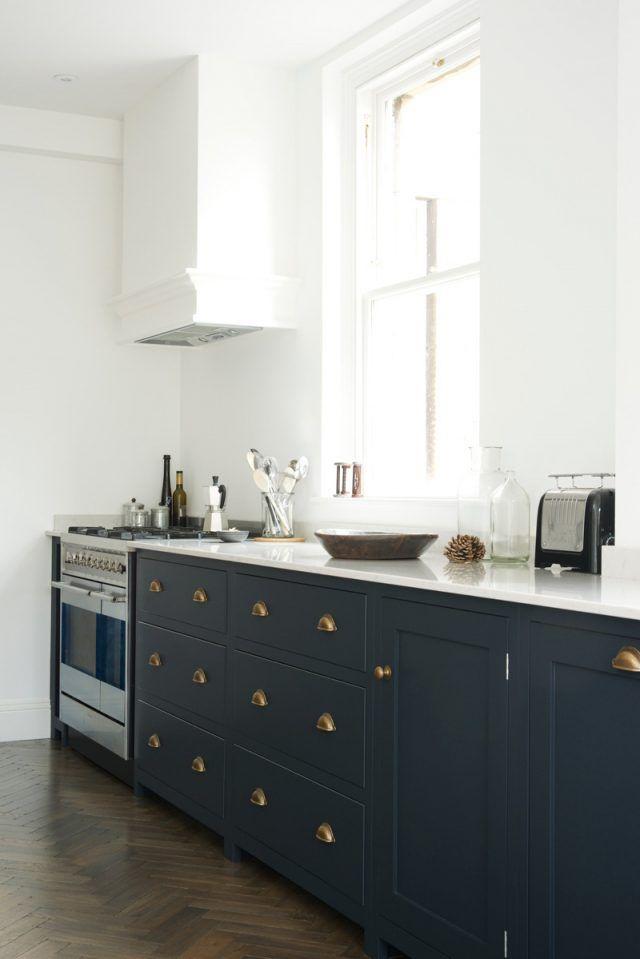 Cuisine bleu gris canard ou bleu marine code couleur et id es de d co inspi d co - Cuisine bleu marine ...