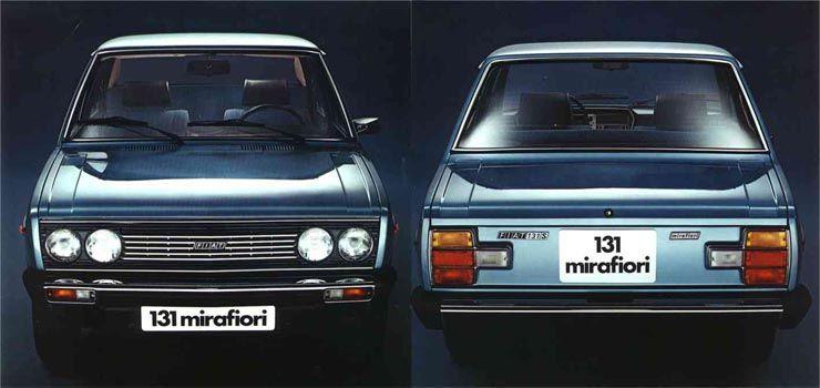 Fiat 131 Mirafiori 1978 Antika Arabalar Klasik