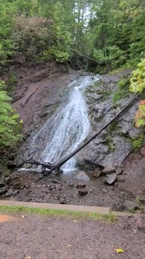 #jacobsfalls #waterfall #waterfalls #puremichigan #michigan #upperpeninsula #roadsidewaterfall #roadsideattraction #sightseeingfromyourcar #upperpeninsulamichigan #nature #nofilter #summer #summertime #pictureperfect
