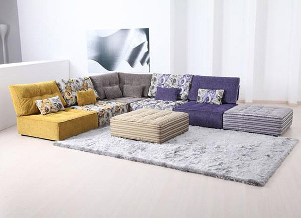 Cuddle Into This 20 Comfortable Floor Level Sofas Home Design Lover Living Room Without Sofa Living Room Seating Ideas Without Sofa Modular Sofa Design