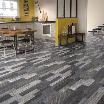 Sol PVC gris westwood grey, GERFLOR Texline l4 m travaux Pinterest - dalle de sol chambre