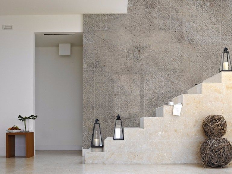 Stone effect panoramic wallpaper TORINO 06 PIZZO L