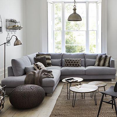 corner living room table decor with mirrors brandon set 2 group left hand facing sofas lhf