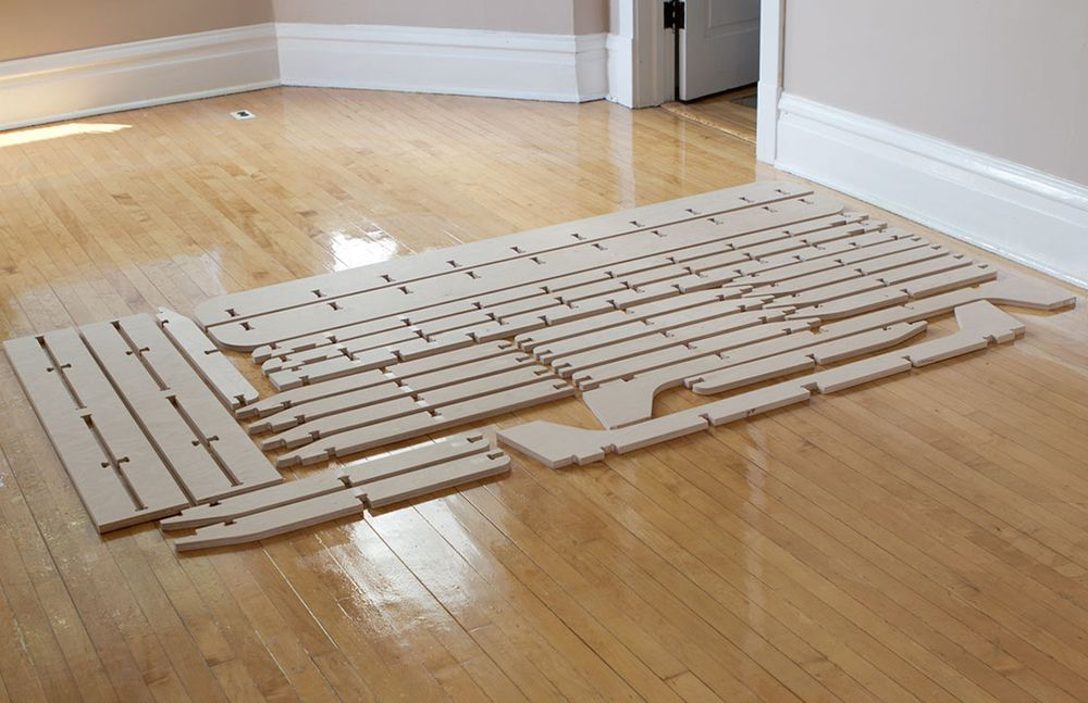 Best Trestle Is A Full Size Flat Pack Bed Frame Made From A 400 x 300