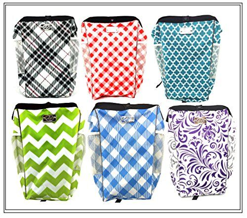 The Keep It Clean Carbage Auto Trash Can Litter Bag Garbage Bin Car Pail Great For Cars Boats Rvs Purple
