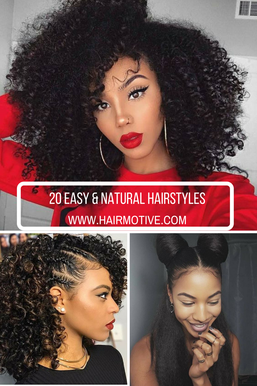 Your Natural Hairstyles For Afro Textured Hair For Busy Mornings Or For Evening Parties Natural Hair Styles Hair Styles Natural Hair Styles For Black Women