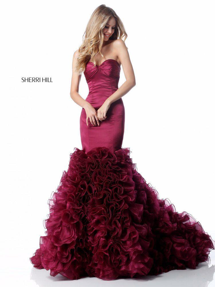 Sherrihill 51890 Plum 1g For Fun Prom Dresses Pinterest