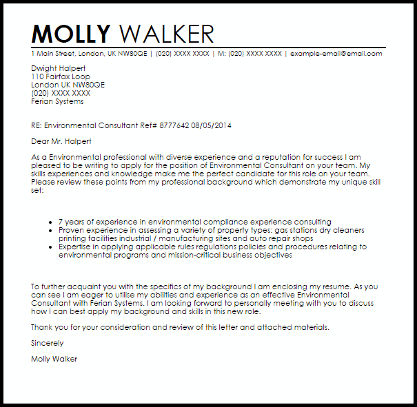 cover letter template consulting consulting cover coverlettertemplate letter template
