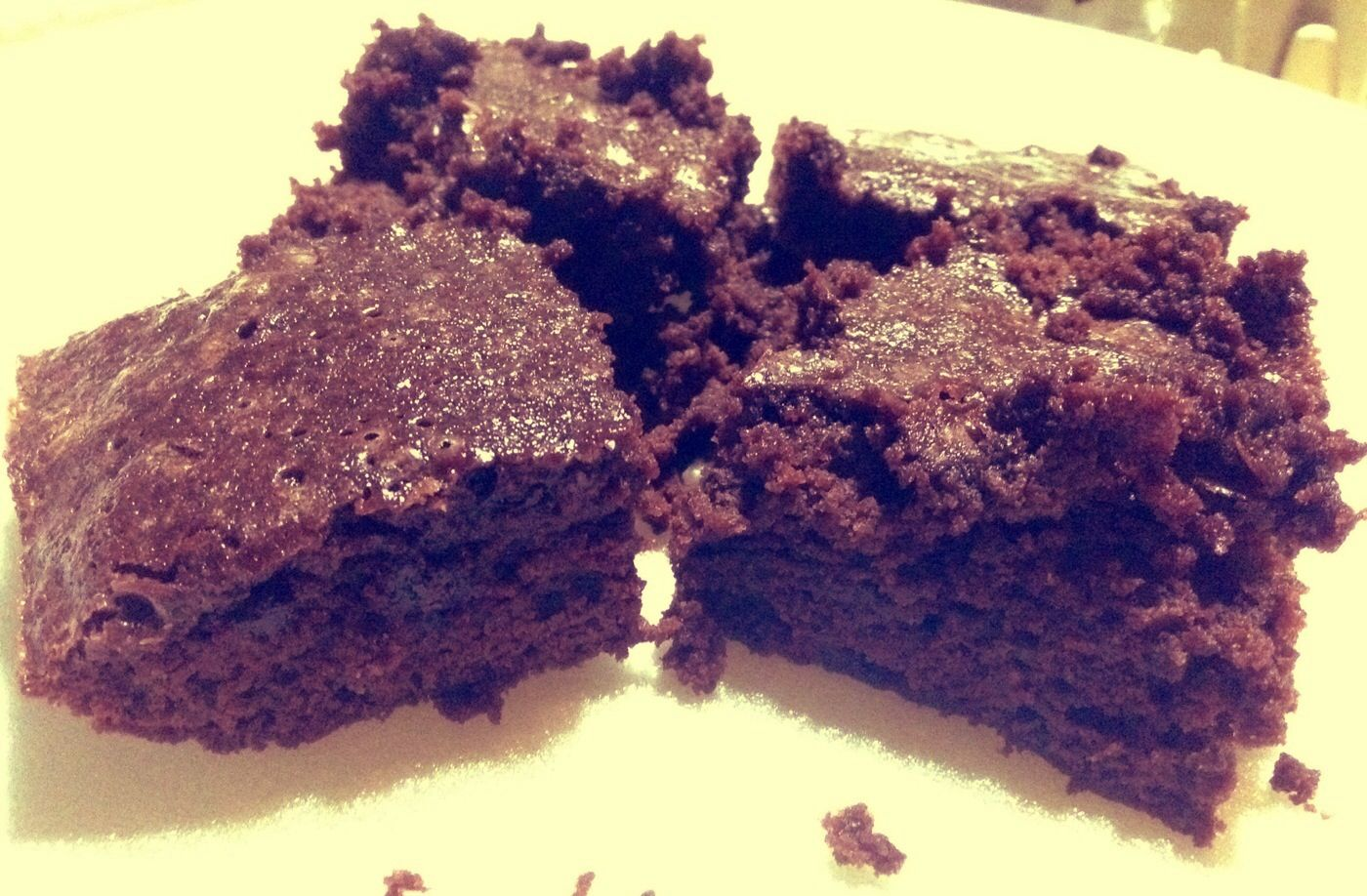 Mocha chocolate brownies