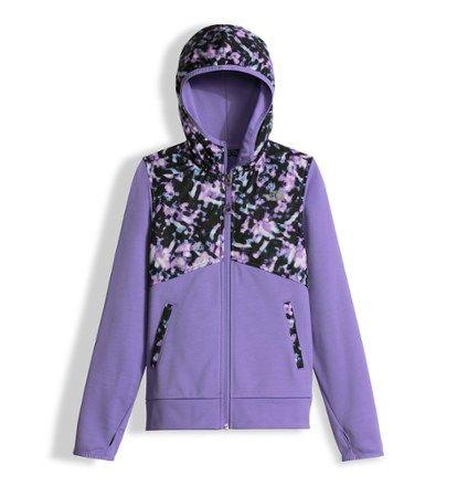 21129b02e139 The North Face Girl s Kickin It Hoodie Violet Tulle Bokeh Taffeta XL ...