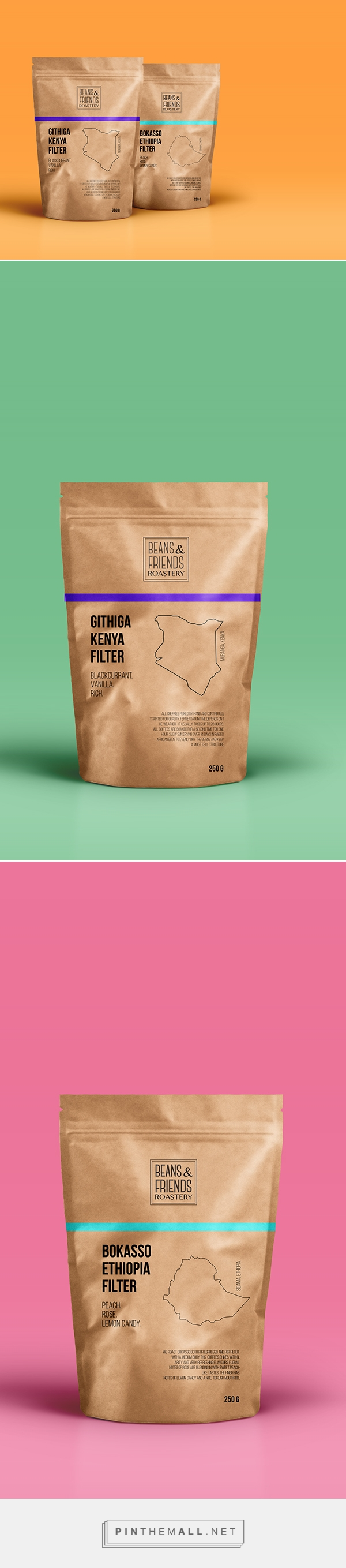 Coffee beans Coffee packaging