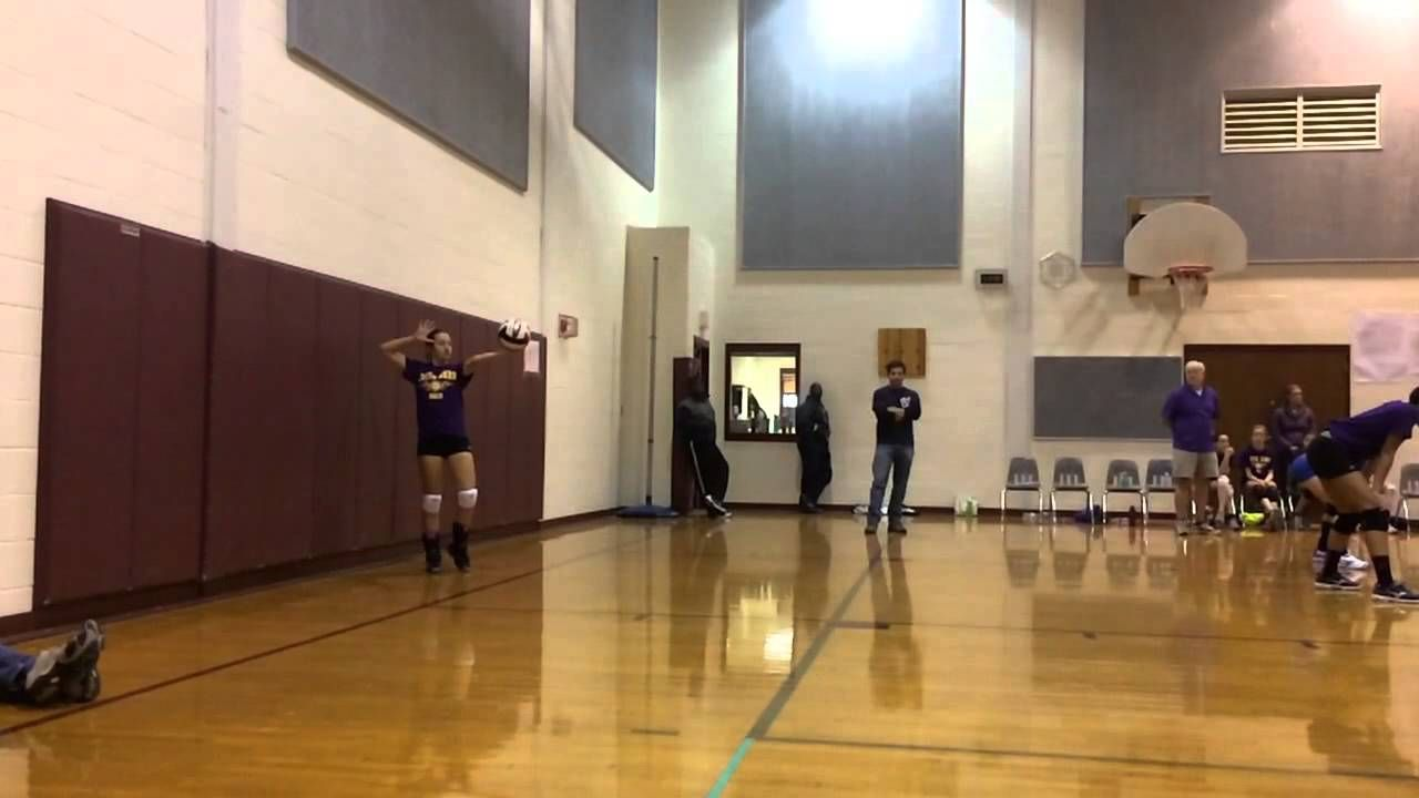 Overhand Serve Slow Motion Volleyball Serve Serve Volleyball