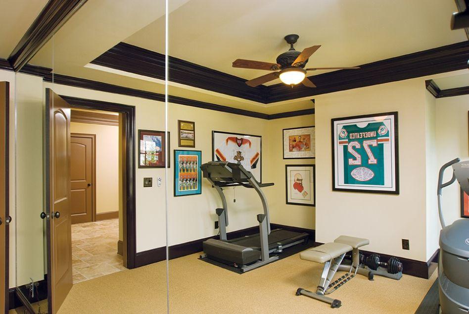 Design, Extraordinary Smart Home Gym Design Ideas Cute: Inspiring ...