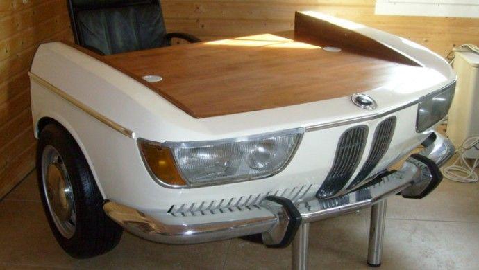 DIY Möbel aus Autoteilen: so wird das Auto zum Wohnaccessoire