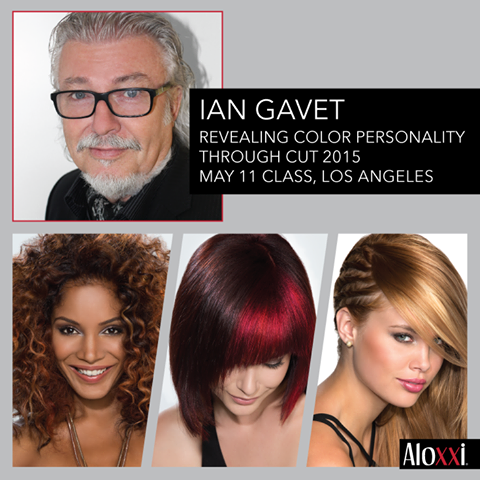 Learn how to shift the shape, weight and density of your client's hair to suit their individual needs in Ian Gavet's Aloxxi Academy class, May 11th in Los Angeles. Email education@aloxxi.com to reserve your spot!