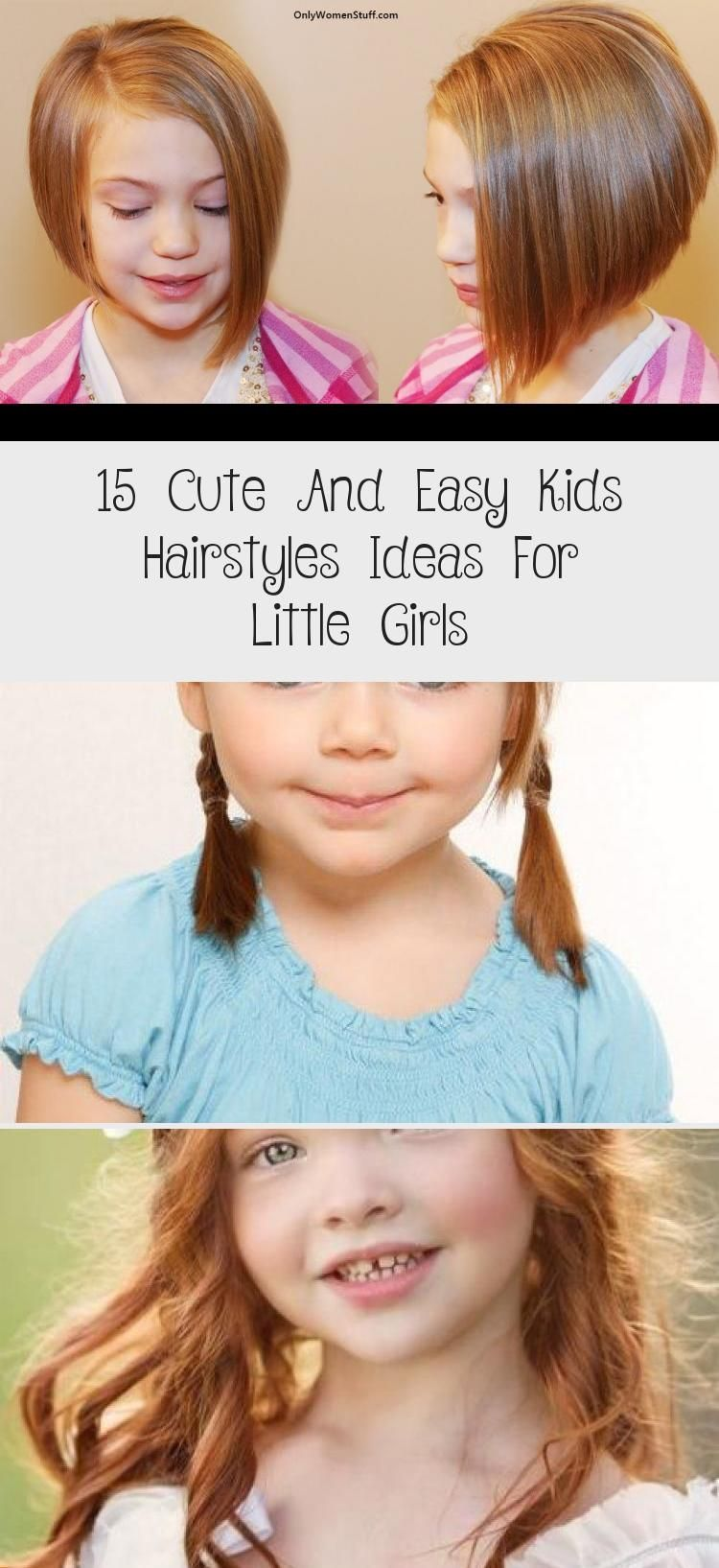 15 Cute And Easy Kids Hairstyles Ideas For Little Girls - health and diet fitness -  Simple Hairstyl...