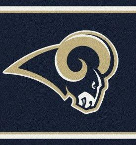 St. Louis Rams Area Rug