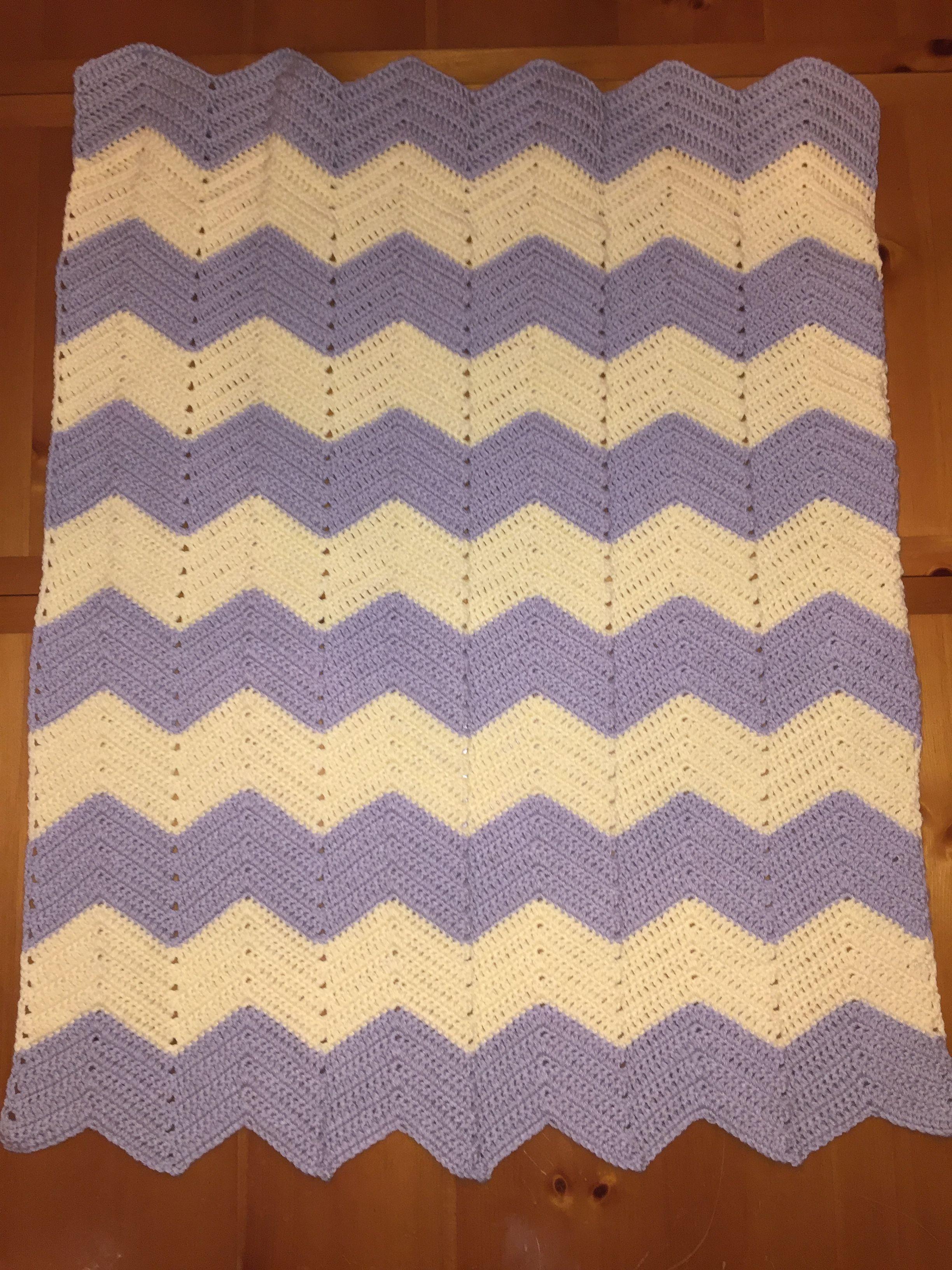 Chevron baby blanket | Crochet | Pinterest | Chevron baby blankets ...