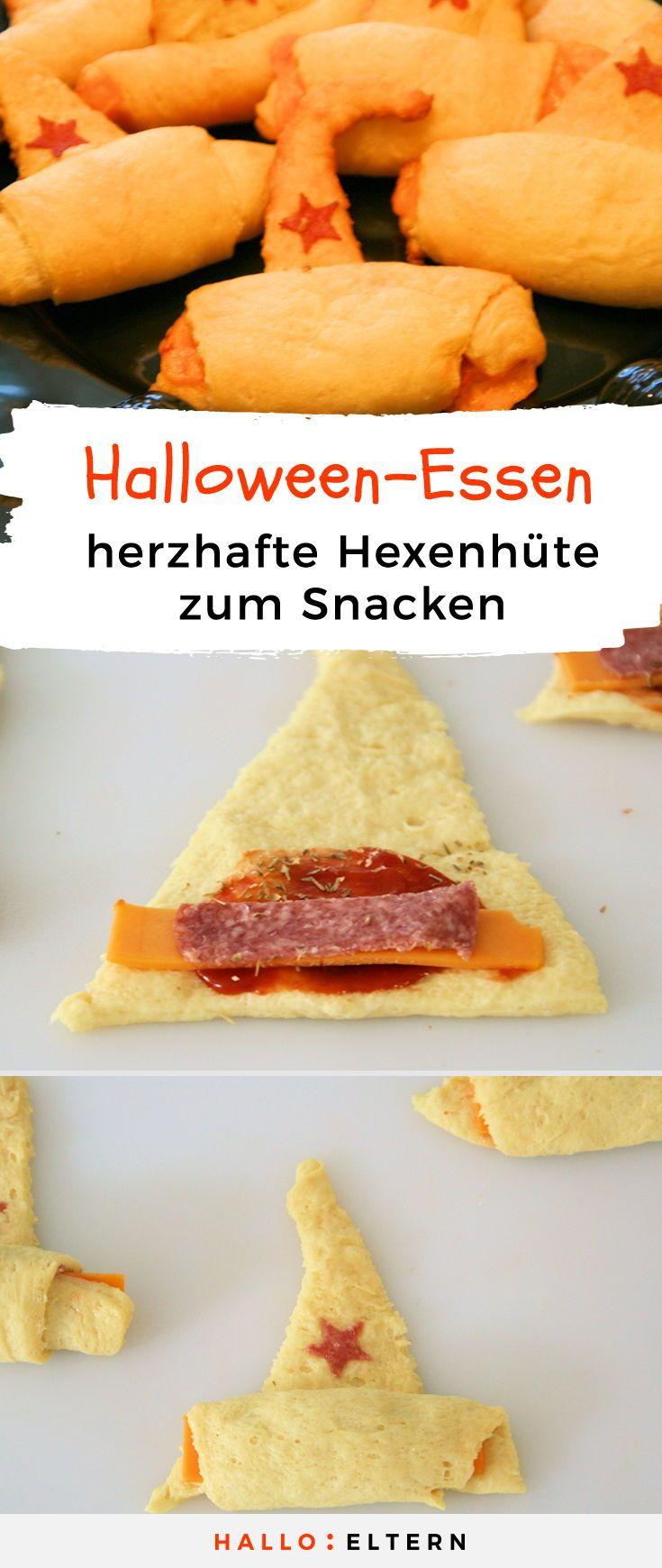 Abra-Kadabra zauberst du einen leckeren Halloween-Snack aus dem Hut.
