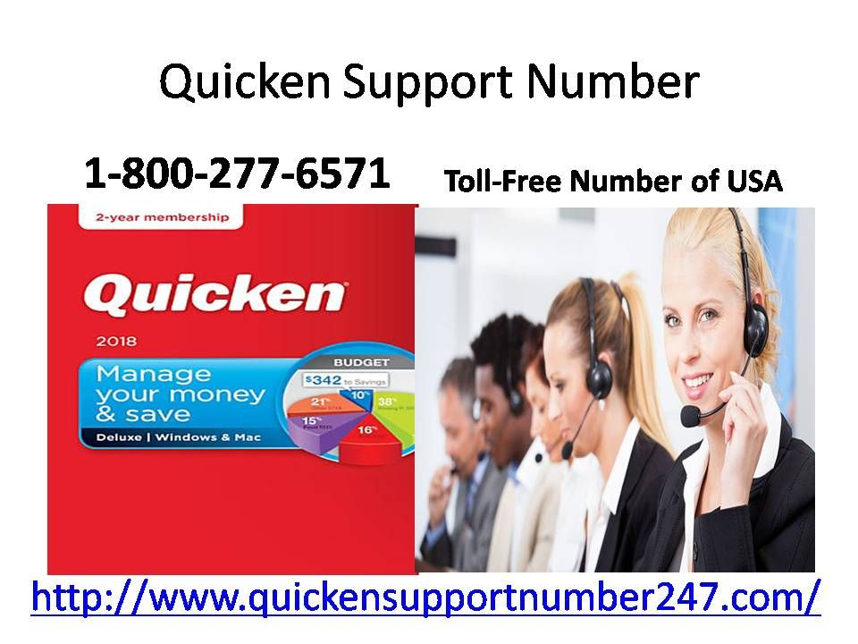 Call our toll free number Quicken Support Number 1800277