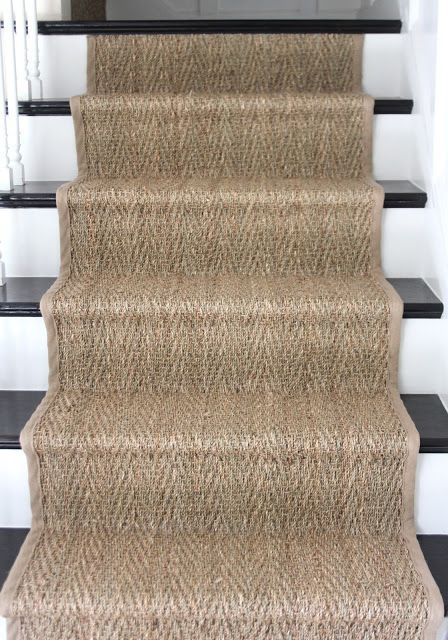 Charmant Shine Your Light: How To: Seagrass Stair Runner #Home Decor