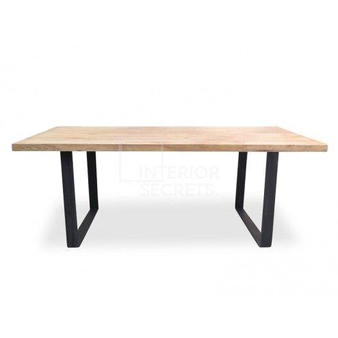 Dalton Reclaimed Elm Wood Table 1 5m Rustic Natural Dining