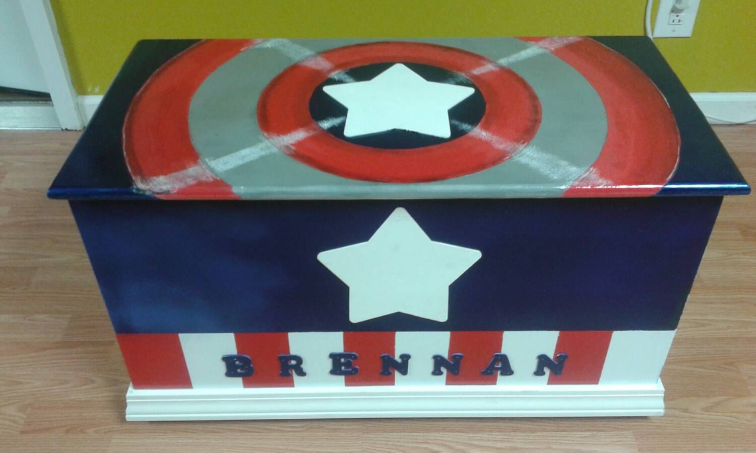 Top super hero wooden trunk - Google Search | New project | Pinterest  MG52