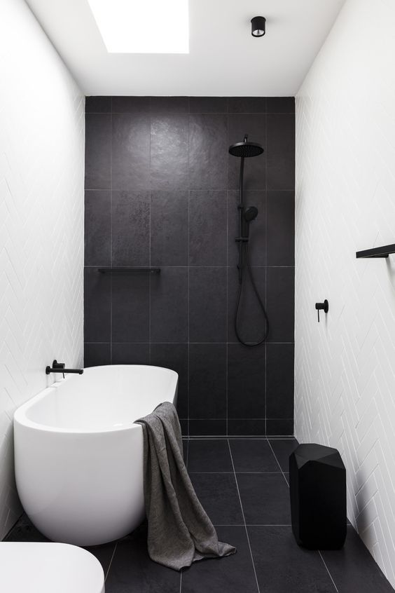 Shower and bath combined (wet room) #wetrooms