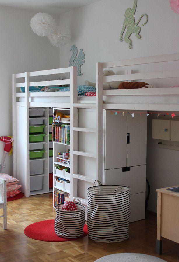 House Doctor schafft Ordnung Kinderzimmer, Hochbetten und Neuer - bunte kinderzimmermobel ideen