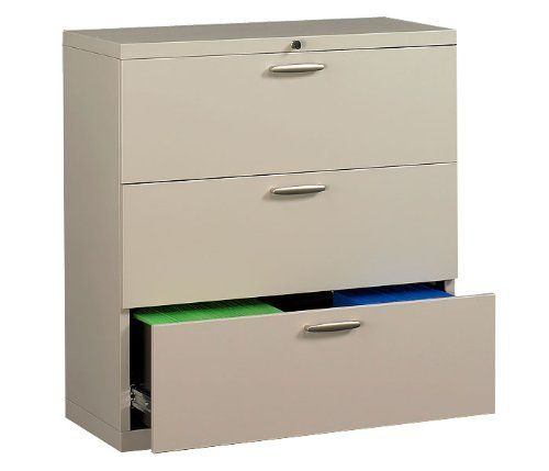 Nbf Signature Series 30 Wide Lateral File With Three Drawers By