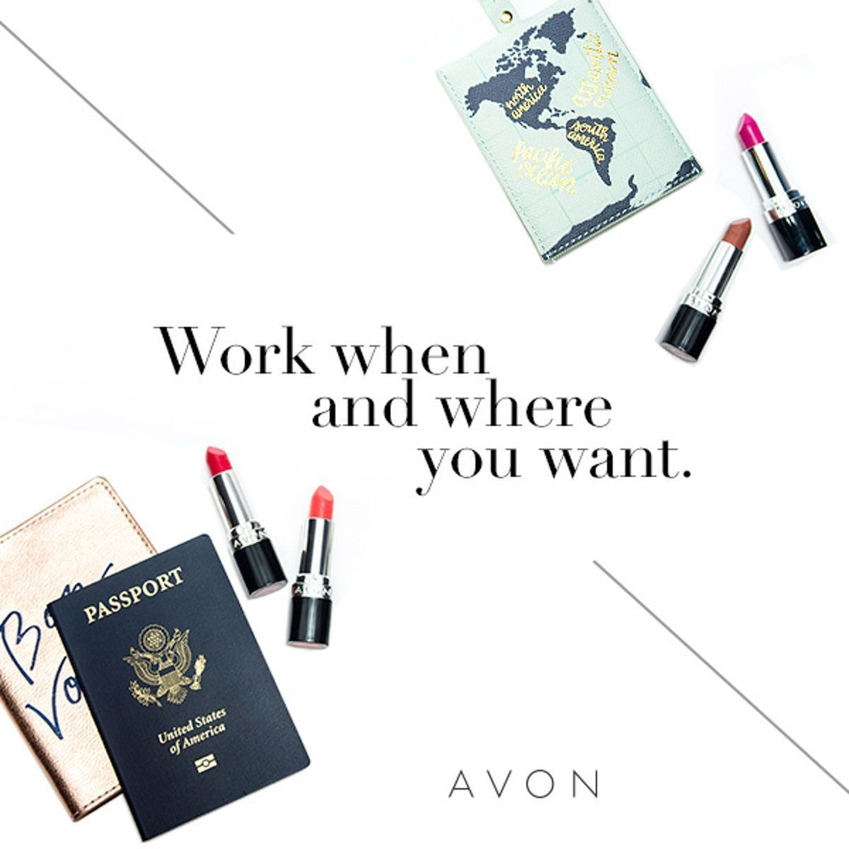 Avon has all of the tools you need to work from wherever