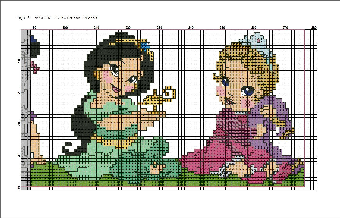 disney princess cross stitch | ponto cruz | Pinterest | Disney ...