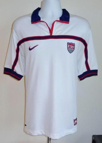 base Promesa Medicinal  USA football shirt 1998 - 1999 | Football shirts, Football tshirts, Football