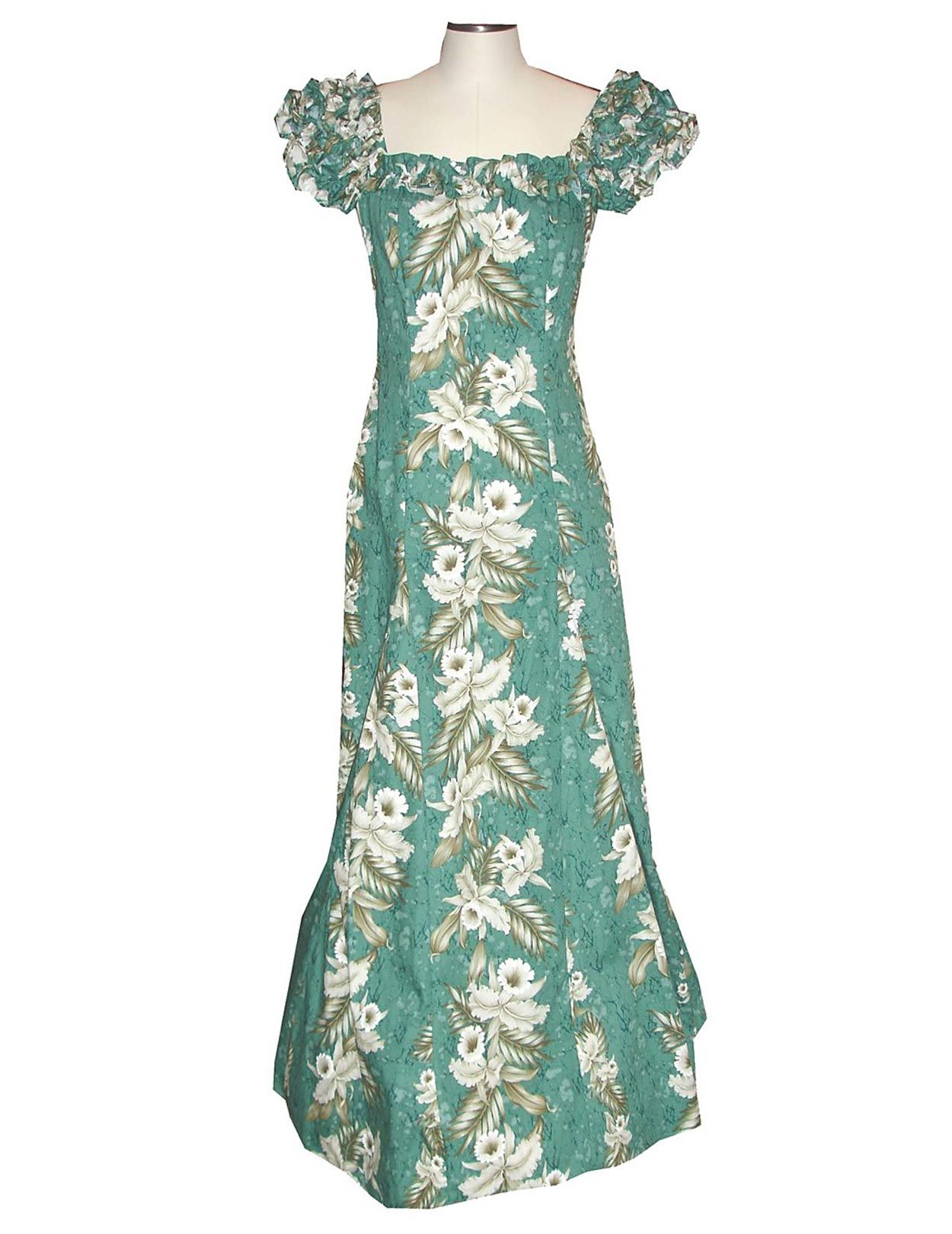 Check out the deal on Long Ruffle Muumuu Dress Malino at Shaka Time ...
