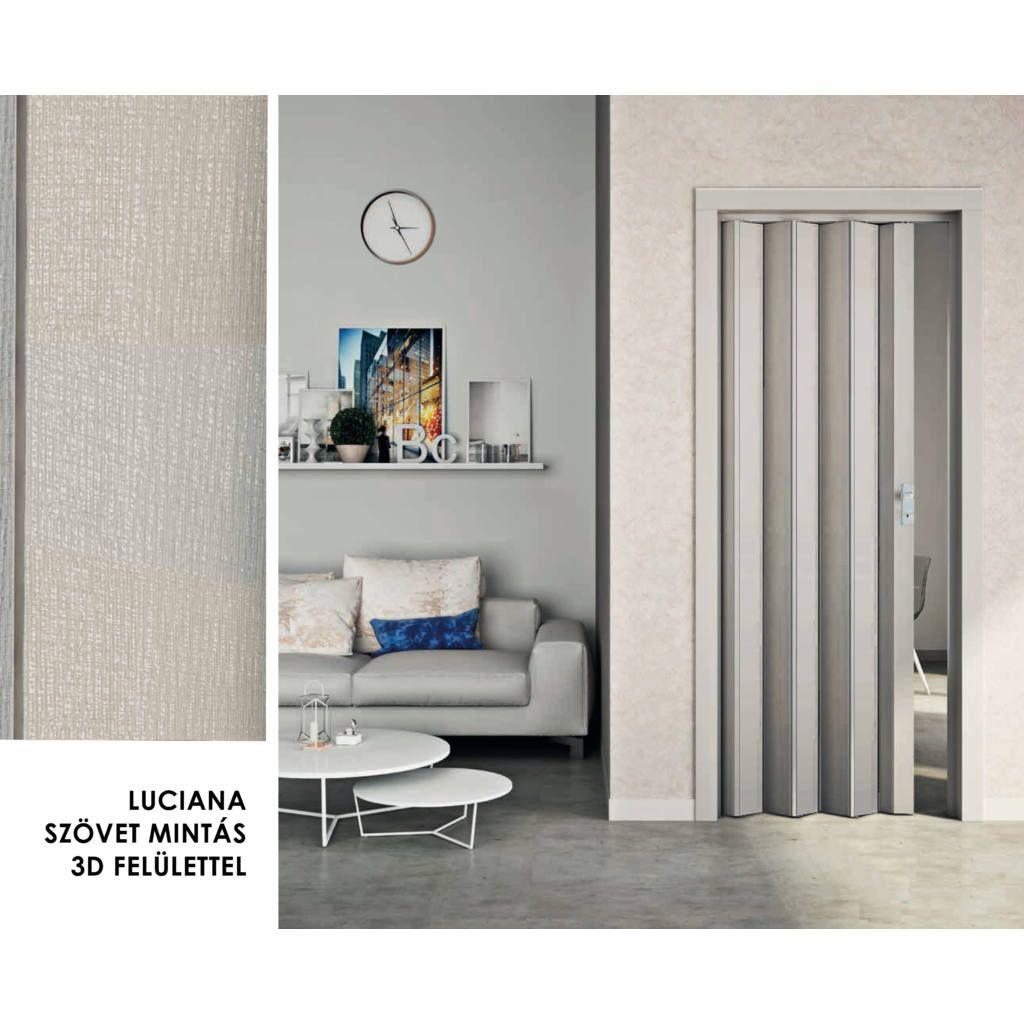 Luciana gray fabric -FORTE folding door