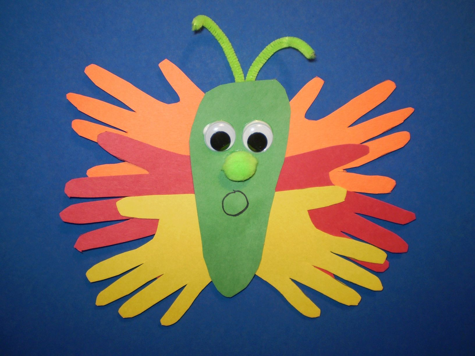 construction paper art projects | materials: colored construction