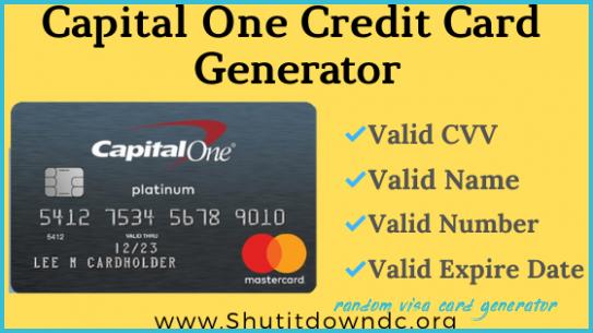 pilulă Tragic Accelerarea random generator credit card